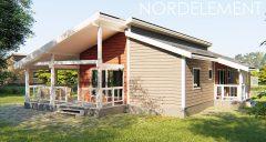 Grey accent 110-120 строительство домов по норвежской технологии