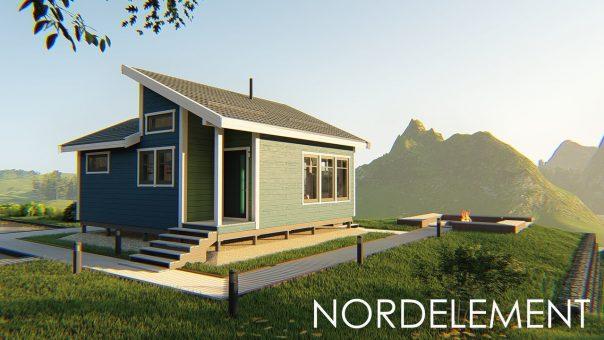 Дома по типовым проектам каркасное домостроение