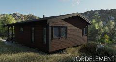 Brown 107 строительство домов по норвежской технологии