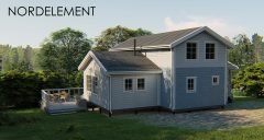 White Ridge 130-150 строительство домов по норвежской технологии