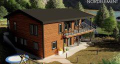 Family House строительство домов по норвежской технологии