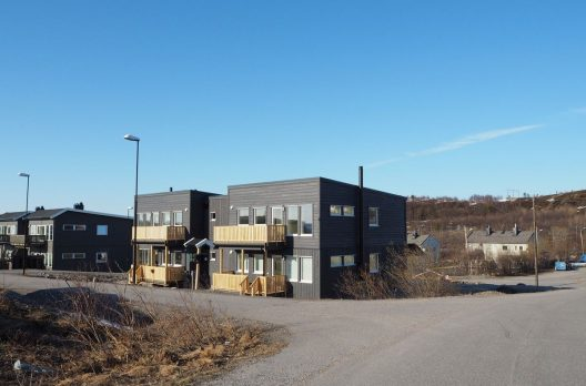 4х квартирный модульный дом, Киркенес, Норвегия.