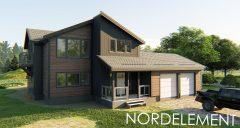 Dark wood  строительство домов по норвежской технологии