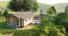 Lake House строительство домов по норвежской технологии