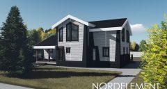 White 146 строительство домов по норвежской технологии