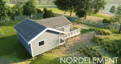 Lake House 2 строительство домов по норвежской технологии