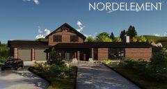 Aspen Brown строительство домов по норвежской технологии