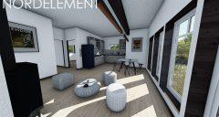 Green 70 строительство домов по норвежской технологии