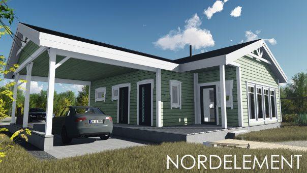 Green 86 строительство домов по норвежской технологии