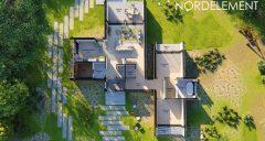 Brown Modern 2 строительство домов по норвежской технологии