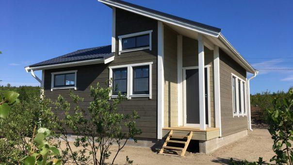 Компакт 50, г. Кола строительство домов по норвежской технологии