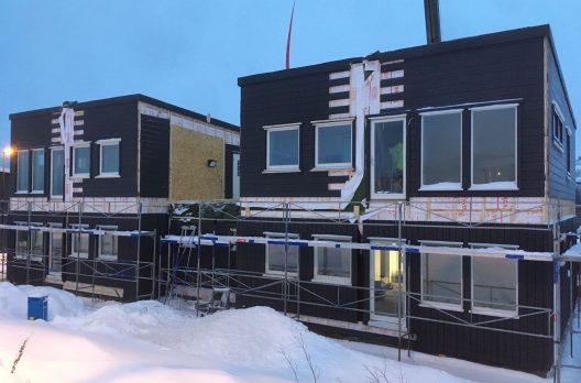 4х квартирный модульный дом, Норвегия
